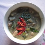 Chicken Green Curry - Gaeng Kiaw Wan Gai