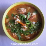 Shrimp in Spicy Hot Soup (Tom Yam Gung)