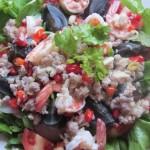 Century Egg Salad - Yam Khai Yiaw Ma