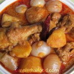 Chicken Massaman - Massaman Gai