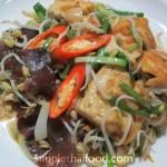 Fry Tofu with Bean Sprout - Pad Taohu Tua-ngog Je