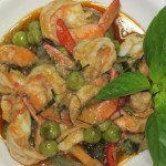Shrimp green Curry - Gaeng kiaw wan Goong