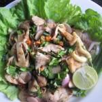 Steamed Mushroom Salad – Goy Hed Fang