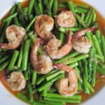 Stir Fry Asparagus with Shrimp