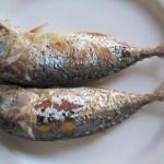 Deep Fry Steamed Mackerel