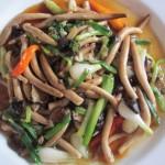 Stir-Fry Yanagi Mushroom