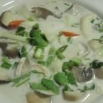 TomKha Mushroom or TomKha Vegetarian