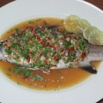 Spicy Steam Sea Bass