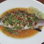 Spicy Steam Sea Bass