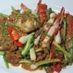 Crab Curry - Pooh-Pad-Pong-Kari