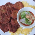 Authentic Thai Fish Cake